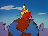 Heffer on top of the world