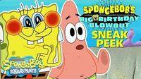 Sneak Peek 👀 SPONGEBOB'S BIG BIRTHDAY BLOW OUT SpongeBob