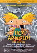 Hey Arnold! The Movie DVD Australia 2003