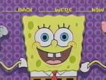 SpongeBob bumper-Wiggling arms (BTTS)