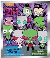 Invader Zim Key-Rings