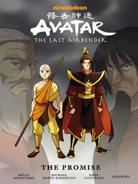 Avatar The Last Airbender The Promise Book