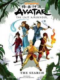 Avatar The Last Airbender The Search Book