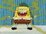 SpongeBob's breath smells bad