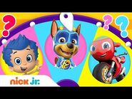 Adventures w- PAW Patrol, Dora, Blue & Ricky Zoom! 🙃 Spin the Wheel of Friends Ep. 1 - Nick Jr.