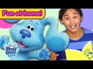 Josh & Blue Playdate -6 - Story Time & Sing Along Songs - Blue's Clues & You!