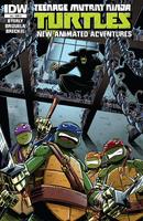 Teenage Mutant Ninja Turtles - New Animated Adventures comics issue 8