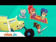 PAW Patrol, Blaze, Nella & More! Paper Craft Fun - Stay Home -WithMe - Nick Jr.