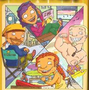 The Rocket Power gang as adults
