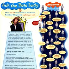 Ask the Boss Lady Geraldine Laybourne Nick Mag May 1995.jpg