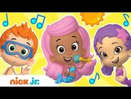 Bubble Guppies Sing-Along in the Summer! 😎 - Stay Home -WithMe - Sing-Along - Nick Jr.