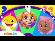 Spin the Wheel of Friends 🤩 w- Baby Shark, PAW Patrol, & Bubble Guppies! Ep. 10 - Nick Jr.