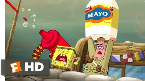 The SpongeBob Movie Sponge Out of Water (2015) - Food Fight Scene (1 10) Movieclips