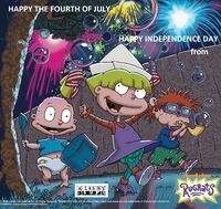 Rugrats 2018 Wallpaper The 4th of July
