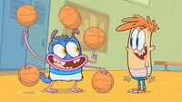 Mikey and Bunsen as they apper in pilot