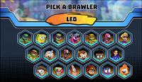 Super Brawl World Roster