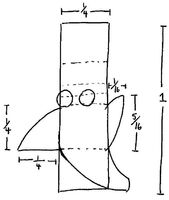 Drawing stinky's Head 1