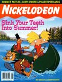 Nickelodeon Magazine cover August 1998 Hey Arnold Angry Beavers