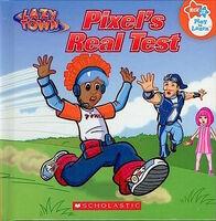 Nick Jr. LazyTown Pixel Book