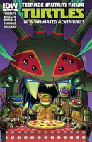 Teenage Mutant Ninja Turtles - New Animated Adventures comics issue 10