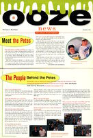 Nickelodeon Magazine Ooze News Holiday 1993 Adventures of Pete and Pete interview