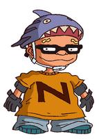 Sam skatebord outfit