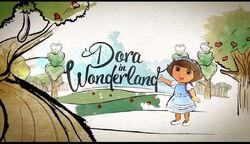 Dora in Wonderland title card.jpg