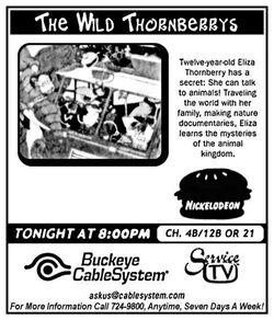 1998 Buckeye CableSystem The Wild Thornberrys ad.jpg