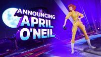 April O'Neil in Nick All-Star Brawl