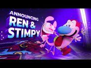 Nickelodeon All-Star Brawl Ren & Stimpy Reveal