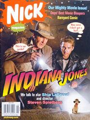 Nick Magazine cover June 2008 Indiana Jones