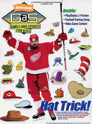 Nickelodeon GAS Games and Sports cover November 2000 Hat Trick