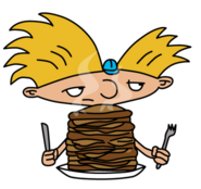 Arnold with Pancakes