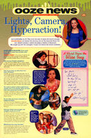 Amanda Bynes interview Ooze News Nickelodeon Magazine Nov 1999