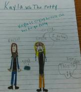 Kayla vs. The Potty