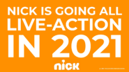 Nick Is Going All Live-Action Print Ad