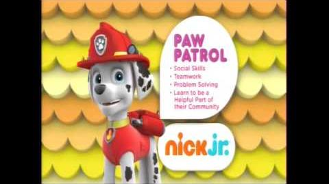 Nick Jr Curriculum Boards (2012-present) PART 1