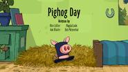 22a Pighog Day