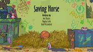 25b Saving Horse