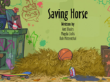 Saving Horse