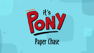 Short 2-Paper Chase