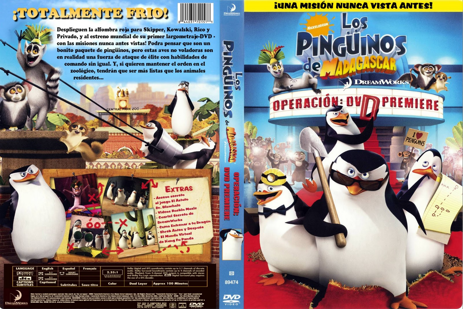 Los Pingüinos De Madagascar Pingüinos De Madagascar Wiki Fandom