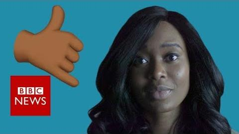 Is it OK to use black emojis and gifs?- BBC News