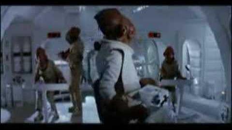 """Admiral Ackbar's """"It's a trap!"""" scene"""