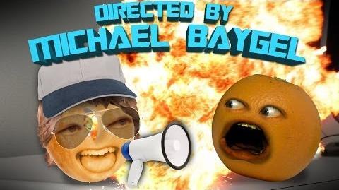Annoying Orange - Directed By Michael Baygle (Ft. Optimus Prime)