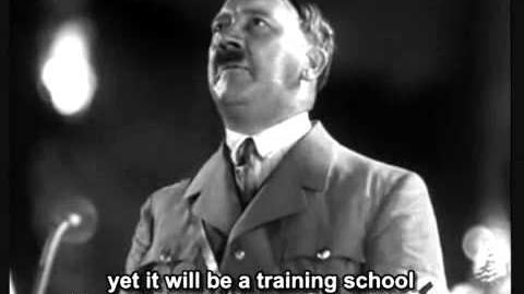 Adolf Hitler - speech (English Subtitles).