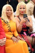 Nicki-minaj-mother-carol-twinning-for-oscar-de-la-renta-show-at-nyfw-2018-photos-1