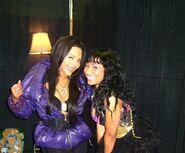 Kim and Nicki