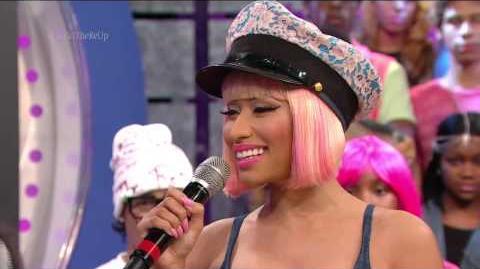 106 & Park Kudos to Nicki Minaj