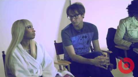 "Behind The Scenes Nicki Minaj ""Pink Pill Commercial"""